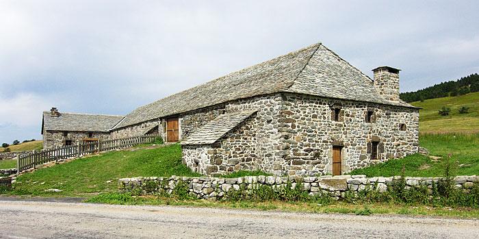La ferme de Bourlatier vue du sud-est