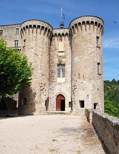 Largentière : le château